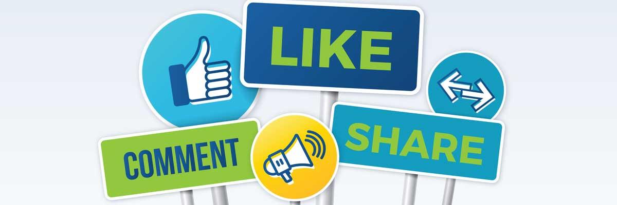 Learn how to share on Facebook